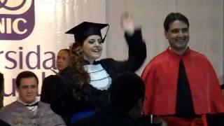 colação de grau da Nataly Gorato Thais bianchin honra ao merito Thais bianchini