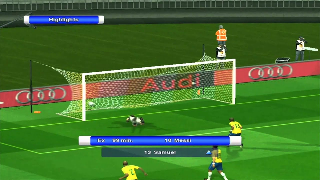 Messi bicycle kick against brazil hd pes 2011 youtube - Messi bicycle kick assist ...