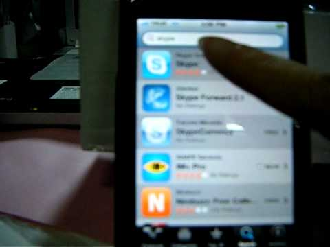 สอนลง Skype ใน iPhone