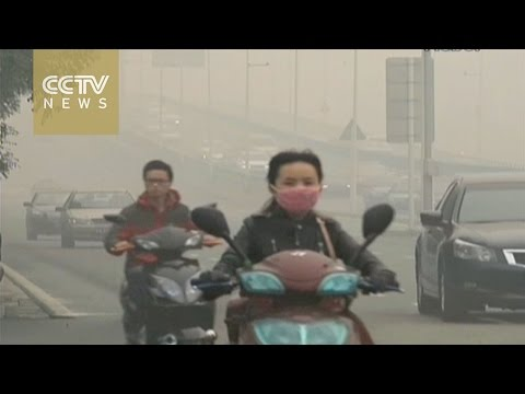 Air pollution index reaches hazardous levels in Beijing