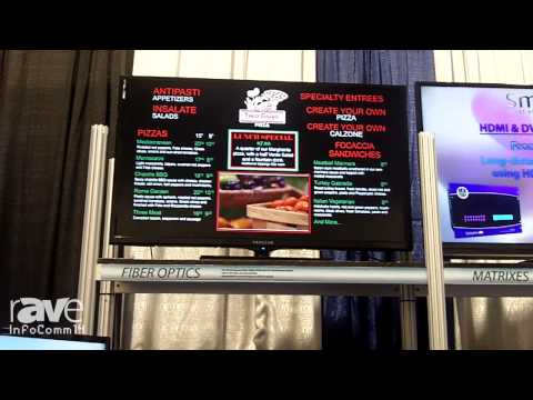 InfoComm 2014: Smart-AVI Discusses Its DigiMenu-Pro for Restaurants