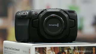 Blackmagic Pocket 4K Camera - Unboxing, Menu Overview, BMPCC 4K Raw Footage
