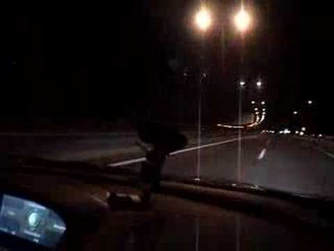 BMW M6 reaching 340km/h at Attiki Odos in Greece!