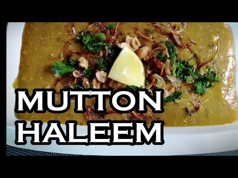 Haleem Recipe l Hyderabadi  Mutton Haleem Recipe l Daleem l How to make Mutton Haleem-Iftar Recipe