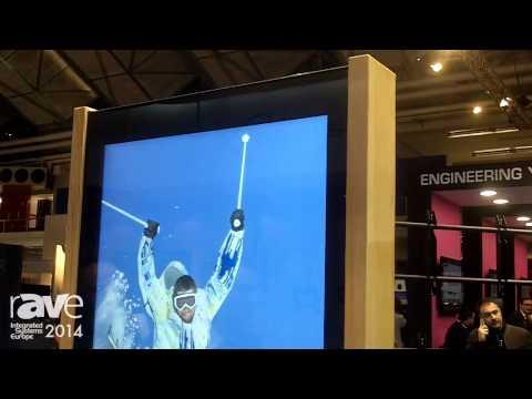 ISE 2014: Edbak Introduces Its New Kiosk with 50″ Screen