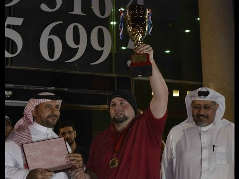 Walid Nahas - 1st Place of the Championship (Open Class) Trophy Moment