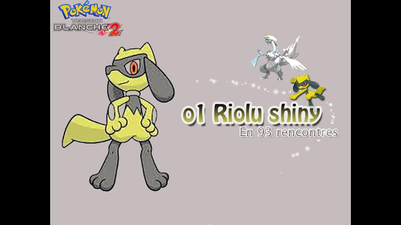 Shiny riolu egg