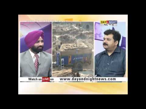 Jago Punjab | Deepak Dhiman of Dainik Bhaskar on Sand Mafia | Media in Punjab | 19 Oct 2013