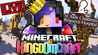 🔴 LIVE: Minecraft KingdomCraft St. Jude PLAY LIVE Charity Stream