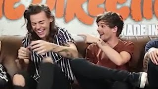 Harry Styles & Louis Tomlinson Make Awkward Zayn Tattoo Joke