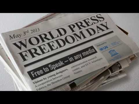 World Press Freedom Day, 3 May 2013 [Live Windows Project - ECV Atlantique, Nantes]