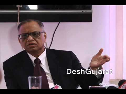 Infosys founder N. R. Narayana Murthy on finest administrator Narendra Modi and Gujarat