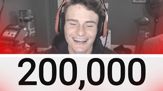 Thanks for 200,000 subscribers!