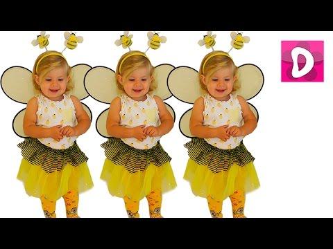 ✿ Хэллоуин 2015 Пчелка и Скелет Halloween 2015 skeleton with song for kids