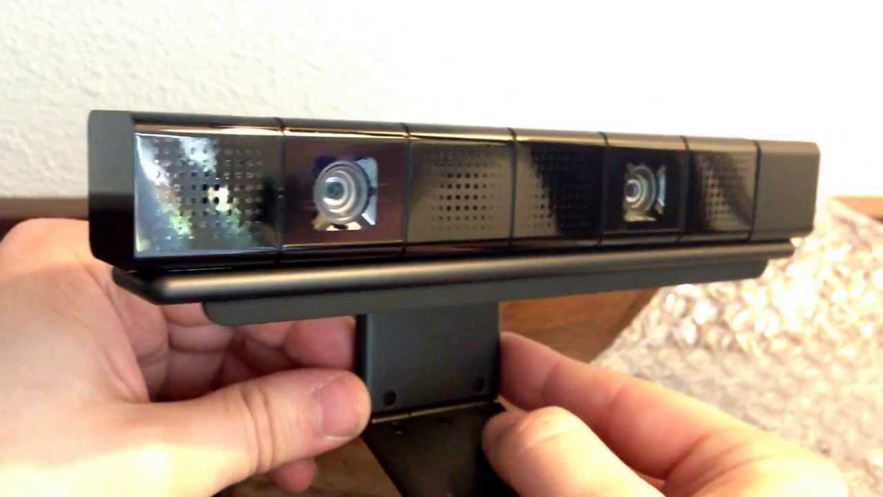 PS4 Playstation Camera Unboxing and Impressions - YouTube