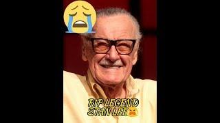 RIP CREATOR OF MARVEL (STAN LEE) creator of #iron man #captain America  #avengers