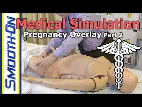 Make Your Own Pregnancy Overlay Using Silicone Rubber And Foam - Part 2