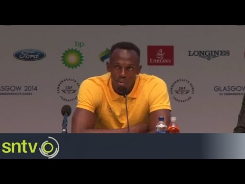 Bolt confirms he is injury free - Commonwealth Games 2014