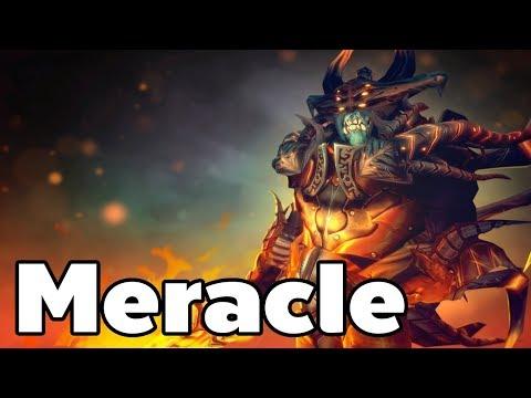 Meracle Pro Doom Offlane Rank MMR Game