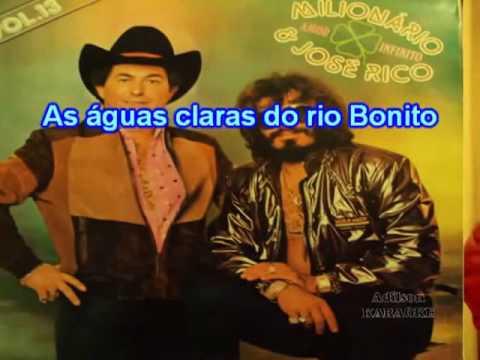 Milionário E José Rico   A Garça Pantaneira