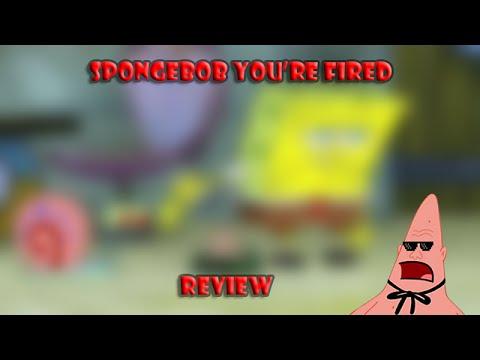 Spongebob You're Fired Review (Spongebob Squarepants) (600 subscriber special)