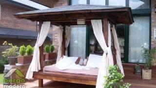 Dise o de kioscos para jardines for Disenos de kioscos de madera