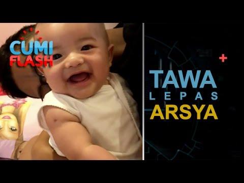 Digoda Kakak Azriel, Arsya Tertawa Lepas - CumiFlash 17 Mei 2017