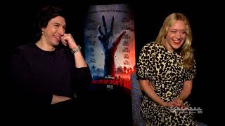 Cinemark Interviews Chloë Sevigny and Adam Driver of The Dead Don't Die