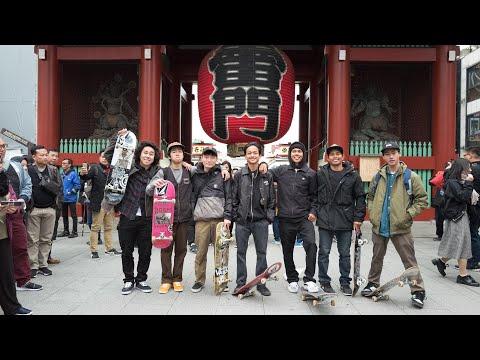 Saikou Psycho - Volcom Asia's first ever all-Asian skate trip