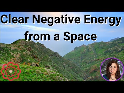 Reiki for Clearing Negative Energy from a Space