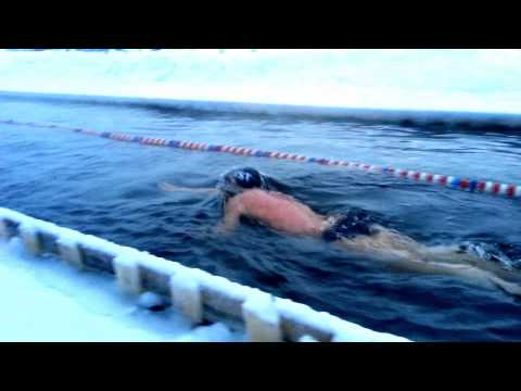 Henri Kaarma powering his body to 1,650m water 0.5deg,New Baltic and Scandinavian Record