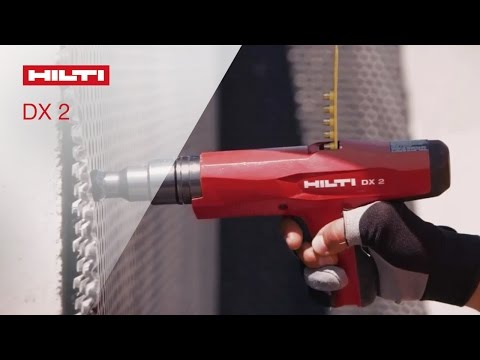 INTRODUCING the Hilti powder-actuated fastening tool DX 2