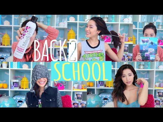 BACK 2 SCHOOL : 5 DAYS - 5 WAYS
