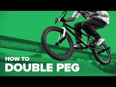 Как сделать дабл пег грайнд на BMX (How to Double Peg Grind BMX)