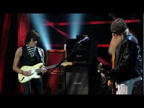 JEFF BECK BAND  BILLY GIBBONS (ZZ Top) - FOXY LADY