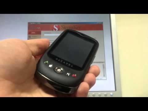 How to unlock Alcatel OT-980 with SigmaKey