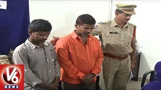 Hyderabad Police Nabbed Brothers In Temples Robbery Case