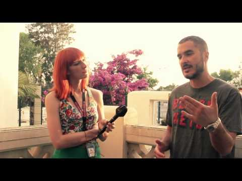 Zane Lowe interview at Mallorca Rocks 2012