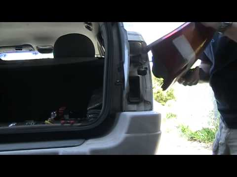 2002 Jeep Grand Cherokee Laredo Tail Light Repair