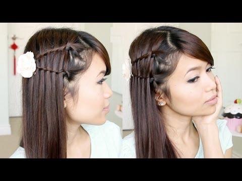 Double Waterfall Twist Hair Tutorial