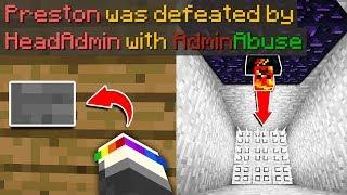 SERVER ADMIN TROLLS ME ON MY MINECRAFT SERVER! (Minecraft Prisons #3)