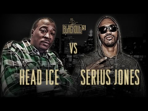 KOTD - Rap Battle - Head I.C.E. vs Serius Jones