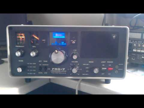 Yaesu Musen FRG-7 Vintage Amateur Radio