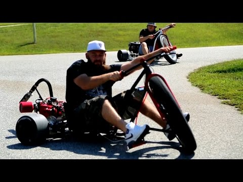 Motorized Drift Trike - Sfd Industries video