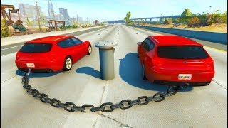 High Speed Jump Crashes BeamNG Drive Compilation (BeamNG Drive Crashes)