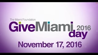 Give Miami Day 2016: Learn the Basics