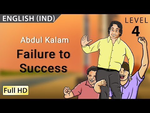 Abdul Kalam, Failure To Success: Learn English - Story For Children bookbox video