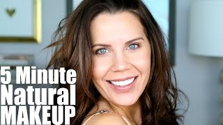 QUICK NATURAL SUMMER MAKEUP | 5 Minutes to Flawless - Tati (GlamLifeGuru)