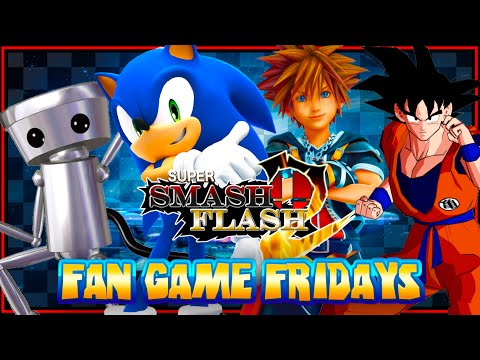 Fan Game Fridays - Super Smash Flash 2