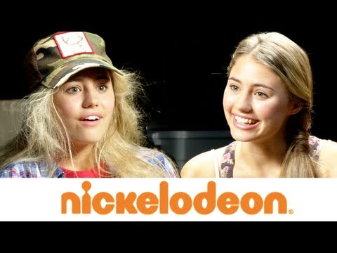 Lia Marie Johnson Interviews Terry the Tomboy about AwesomenessTV on Nickelodeon